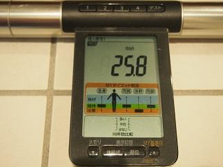 ダイエット11日目BMI