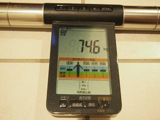 ダイエット28日体重