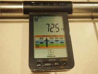 ダイエット35日体重