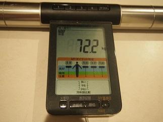 ダイエット39日体重