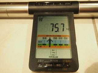 ダイエット24日体重