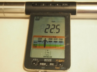 ダイエット85日目BMI