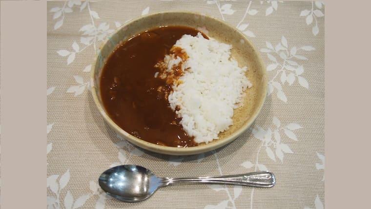 大塚食品ハヤシパッケージ調理例