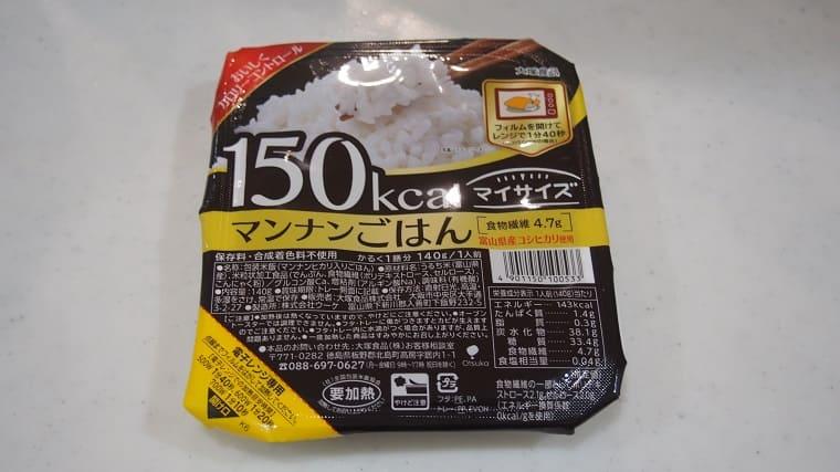 大塚食品マンナンごはん